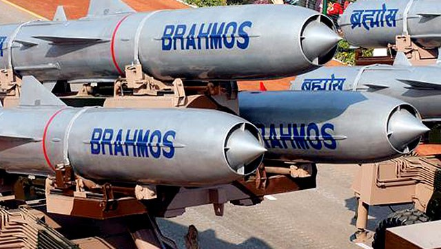 BrahMos missile test-fired from Indian Navy's newest ship INS Kochi, hits target