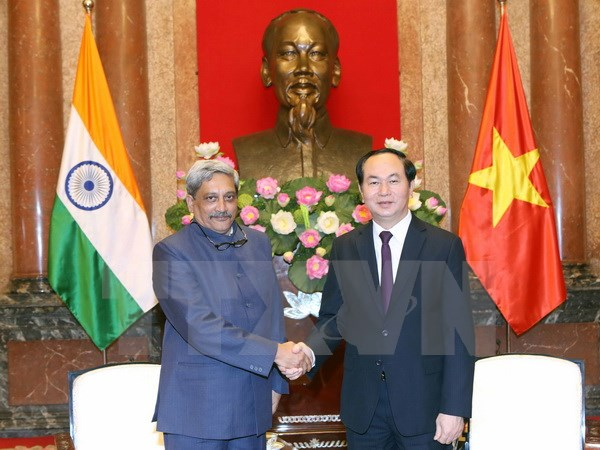 Parrikar holds talks with Vietnamese President, Prime Minister and Defence minister